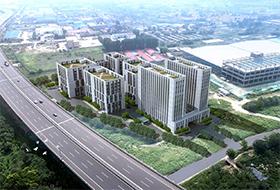 绿天使城阳港乐新能源产业园